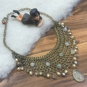 """💎 18"""" Chain & Beaded Necklace/Choker"""